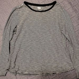 OLD NAVY LS Striped Tee - Sz XL